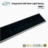 Tudo-em-um LED Solar Luz Rua 90W
