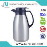 De dubbele VacuümKoffiekan van de Thermosflessen van de Koffie van het Roestvrij staal van de Muur (JSAH)