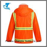 Кальсоны и куртка дождя движения людей отражательные померанцовые