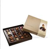 Il commercio all'ingrosso progetta il cioccolato per il cliente che impacca le caselle