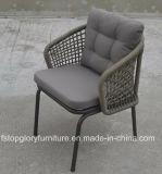 2018 새로운 디자인 놓이는 벨트에 의하여 길쌈되는 옥외 식탁 의자 (TG-S200)