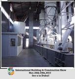 Polvo del yeso del gas natural que hace la máquina