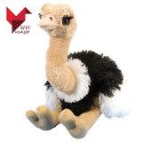 A avestruz material do luxuoso encantador caçoa o brinquedo