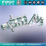 De Korrel die van het bamboe de Installatie van het Project van de Granulator van de Machine voor Droog Bamboe maken