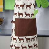 Women를 위한 몽타주 Retro Lace Kitchen Apron