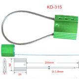 Shang Hai Kabel-Dichtungs-Fabrik-Großverkauf-Sicherheits-Zug-feste Kabel-Dichtung für Gepäck Kd-315