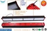 Indicatore luminoso lineare registrabile del parcheggio dell'indicatore luminoso del traforo dell'alloggiamento di colore di alluminio di angolo nero rosso 200W 150W 100W 50W LED della lega