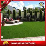 Muestra libre que ajardina el césped artificial de la falsificación de la hierba para el jardín