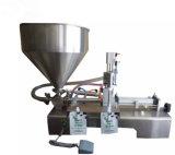 水平の半自動ヨーグルトおよびミルクの単一ピストン液体の充填機