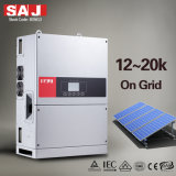 Invertitori solari di griglia a tre fasi di SAJ 17KW 3MPPT IP65 per il progetto commerciale solare