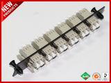 LC mm Bege Tiras Adaptador Óptico Duplex