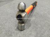 Молоток шарика с половинной ручкой покрынной пластмассой XL0051-2 в ручных резцах