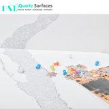 2018 La última de mármol Artificial piedra de cuarzo Encimera
