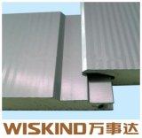 熱Insualtionサンドイッチパネルのための500-100mmの壁PUサンドイッチパネル