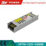 alimentazione elettrica di 12V 8A LED con le Htn-Serie della Banca dei Regolamenti Internazionali di RoHS del Ce