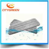 Tête plate de lavette de bande magique humide de Microfiber