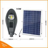 太陽電池パネルのリモート・コントロールの屋外の照明のための動力を与えられた庭ランプ20W LEDの街灯