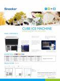 Novo modelo de bancada de máquina de gelo em cubos para bares