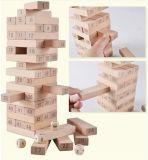 Деревянная игрушка для стекирования бука для детей