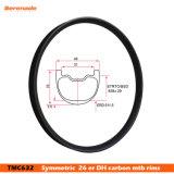 Dh углеродного волокна горных велосипедов 26 дюймов колеса обода