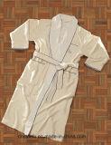 Robe longue confortable superbe en gros de Microfiber d'hôtel de Double couche