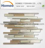 Vetro, pietra e mattonelle di mosaico Mixed di alluminio per la decorazione della parete
