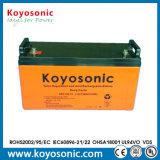 Batterie profonde 12V 110ah de cycle de mémoire à énergie solaire de longue vie