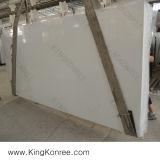 12mm weißer Schein-künstliche Quarz-Stein-Bodenbelag-Fliesen