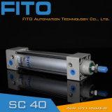 Fabricante padrão do cilindro do ar de Rod de laço do Sc em China/fornecedor chinês do cilindro