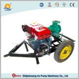 Motor diesel de emergência da bomba de incêndio do Reboque