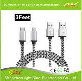 Metallstecker-Typ C USB-Kabel für Daten und die Aufladung