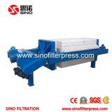 Tipo aguas residuales de la placa que reciclan el filtro de la prensa