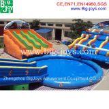 Curso de obstáculo inflable gigante del agua para la venta (BJ-agua obstacle01)