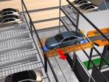 Système de stationnement avec la navette mobile horizontalement