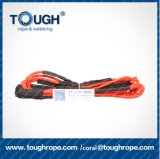 "Orange 1/4 "" X 50FT Synthetic Winch Rope Line Cable 6400lbs Thimble ATV UTV Truck Boat Pick-up Truck"