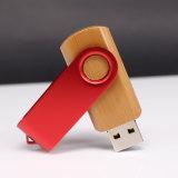 Movimentação de madeira do flash do USB da venda nova