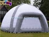 جديدة يعلن خيمة قابل للنفخ برتقاليّ