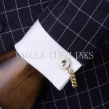 Gemelli di cristallo di Gemelos della radura della novità di qualità placcati oro eccellente di VAGULA