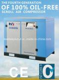 Compressor de ar silencioso livre do rolo do petróleo
