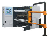 Newsun 800mm de alta velocidad de la máquina de corte longitudinal de BOPP Pet PVC PE OPP Films