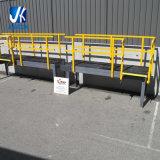 Galvanizado/pintó/estructura de acero costeada de la plataforma de trabajo al aire libre del metal con la escalera de acero