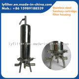 Wein-flüssiges Filter-Edelstahl-Filtergehäuse für Filtereinsätze