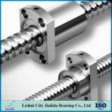 Ballscrews del tornillo y de la tuerca de la bola del terminal de componente de la precisión C7 para el torno del CNC (SFU2505)