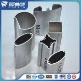Anodisé naturel 6063 T5 des profils en aluminium pour salle de bains douche Partition