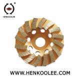 콘크리트를 위한 지속적인 터보 컵 바퀴