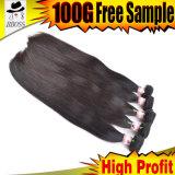 100%のマレーシアのまっすぐなバージンの毛の熱い販売