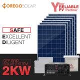 Sistema Home solar de Moregosolar 5kw 3kw 2kw com o melhor painel de potência solar da célula solar 6bb do preço o mais tarde
