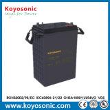 Batterie profonde d'acide de plomb rechargeable du cycle 6V scellée par 380ah de qualité pour l'UPS