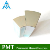 N40uh Segment NdFeB Magnet mit Neodympraseodymium-Legierungs-magnetischem Material