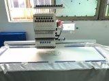 단 하나 Sequin와 끈으로 묶는 장치 - 큰 지역을%s 가진 헤드에 의하여 전산화되는 편평한 자수 기계